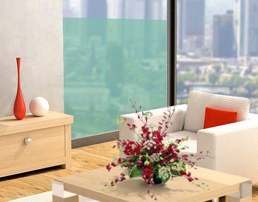 Fensterfolie - Fenstertattoo No.DS116 Quadrat - Milchglasfolie