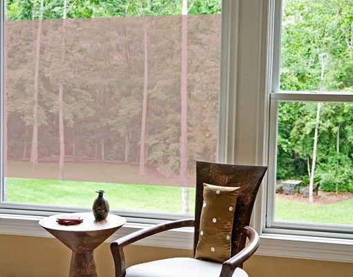 Fensterfolie - Fenstertattoo No.DS117 Rechteck I - Milchglasfolie