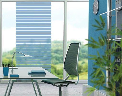 Fensterfolie - Fenstertattoo No.DS120 Streifen Hoch - Milchglasfolie