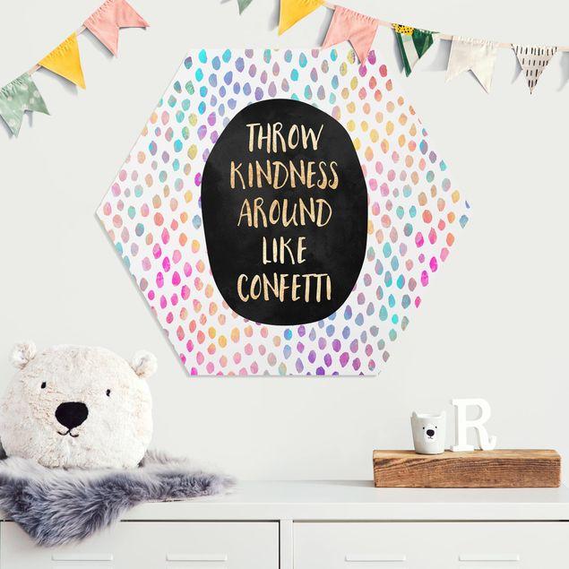 Hexagon Bild Forex - Throw Kindness Around Like Confetti