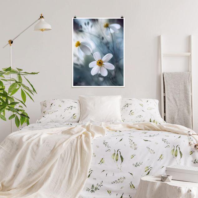 Poster - Kosmeen in Pastell - Hochformat 3:4