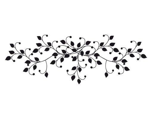 Wandtattoo Floral Ranke No.UL906 Geschmeidige Ranke