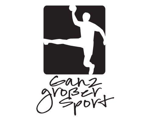 Wandtattoo Sprüche - Wandsprüche No.UL908 Ganz grosser Sport Handball