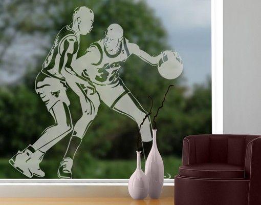 Fensterfolie - Fenstertattoo No.1204 Basket - Milchglasfolie