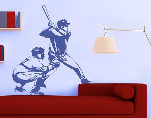 Wandtattoo No.1206 Baseball