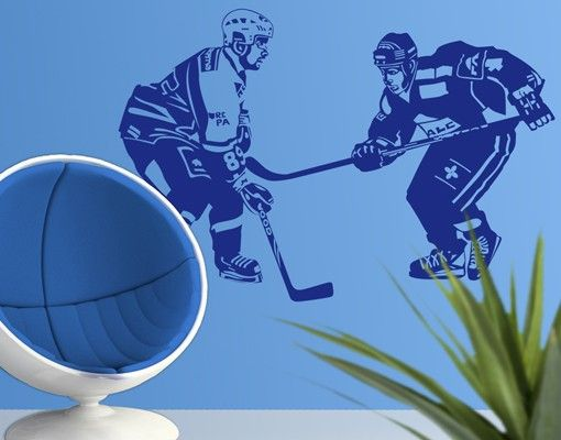Wandtattoo No.1210 Hockey