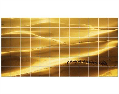 Fliesenbild - Golden Dunes