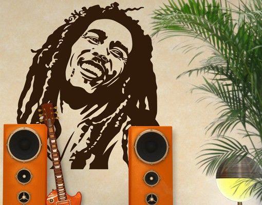 Wandtattoo No.1215 Bob Marley