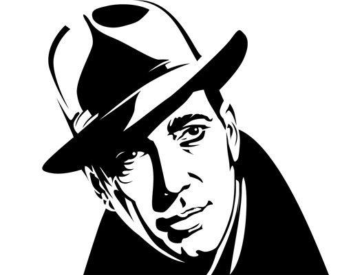 Wandtattoo No.1223 Mr Bogart