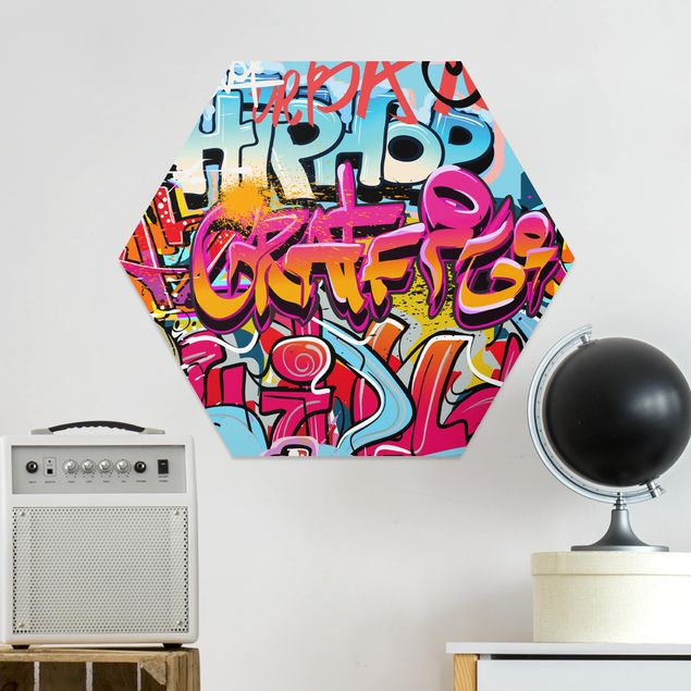 Hexagon Bild Forex - HipHop Graffiti