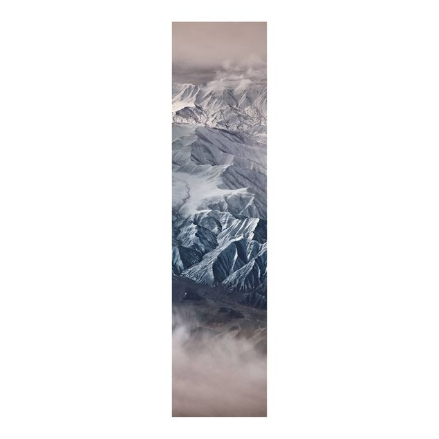 Schiebegardinen Set - Berge von Tibet - Flächenvorhang