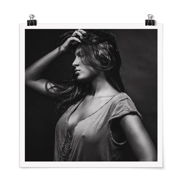 Poster - Dorine - Quadrat 1:1