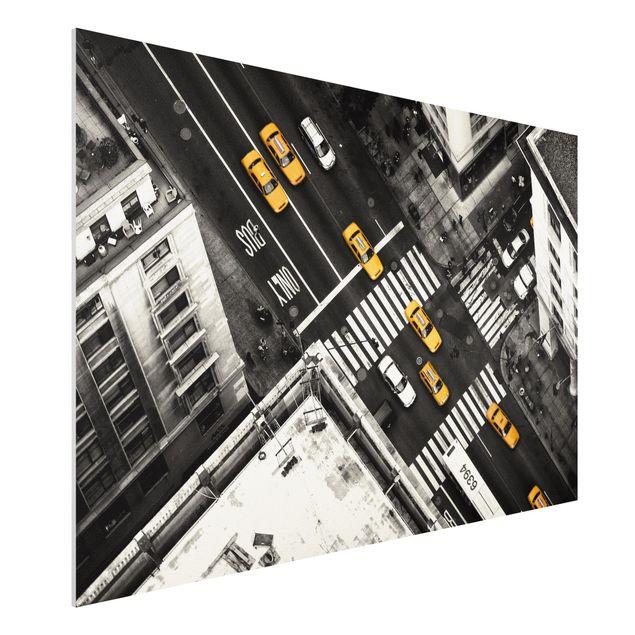 Forex Fine Art Print - New York City Cabs - Querformat 2:3
