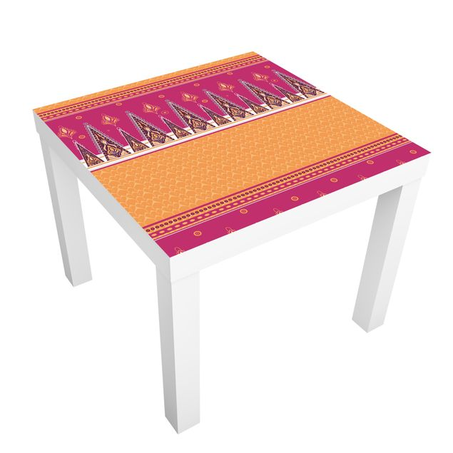 Möbelfolie für IKEA Lack - Klebefolie Sommer Sari