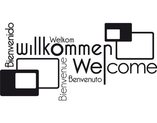 Wandtattoo Sprüche - Wandworte No.FB142 Willkommen