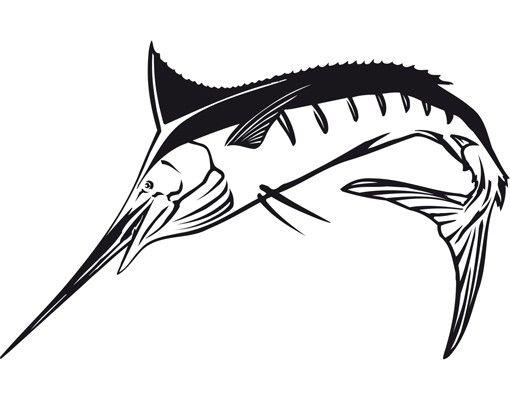 Wandtattoo No.TA52 Swordfish