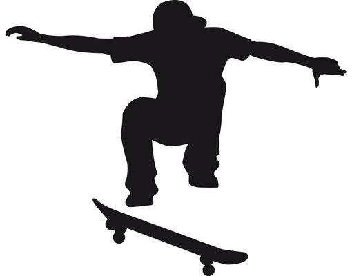 Wandtattoo Kinderzimmer No.JS31 Skater