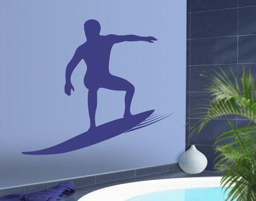 Wandtattoo No.JS32 Surfer