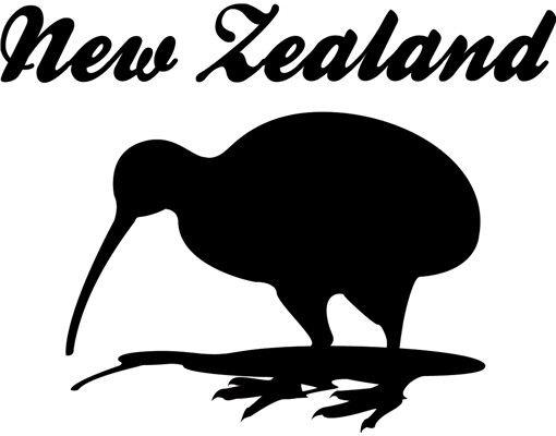 Wandtattoo Sprüche - Wandworte No.JS38 New Zealand Kiwi