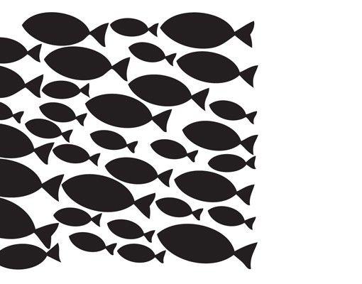 Wandtattoo Fische No.KA12 Fischschwarm