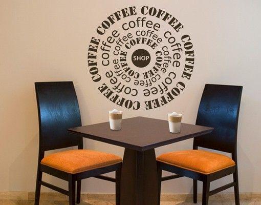 Wandtattoo Sprüche - Wandworte No.KA3 Coffeeshop