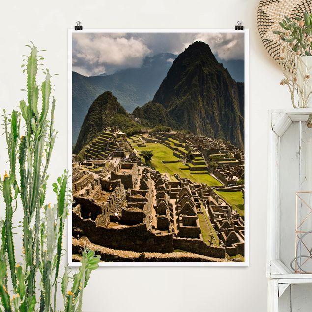 Poster - Machu Picchu - Hochformat 3:4