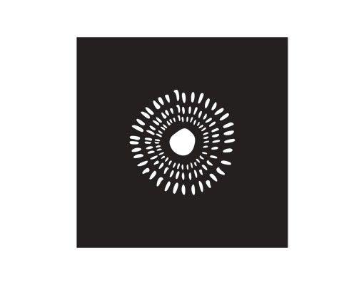 Fensterfolie - Sichtschutzfolie No.UL938 Sonne II - Milchglasfolie