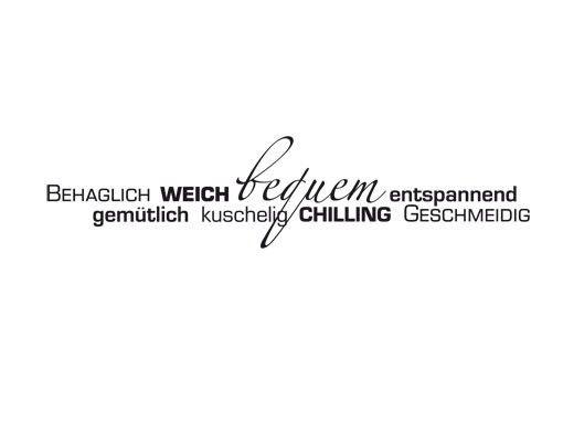 Wandtattoo Sprüche - Wandworte No.UL943 SofaWörter