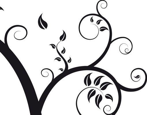 Wandtattoo No.CA25 Herbstbaum