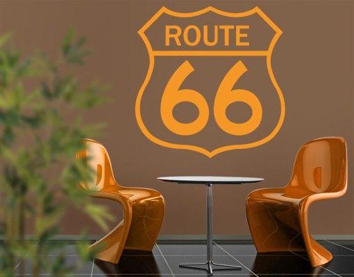 Wandtattoo No.EK164 Route 66