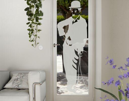 Fensterfolie - Fenstertattoo No.1244 Charlie - Milchglasfolie