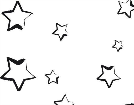 Wandtattoo Sprüche - Wandtattoo Namen No.CA26 Wunschtext Stars Name
