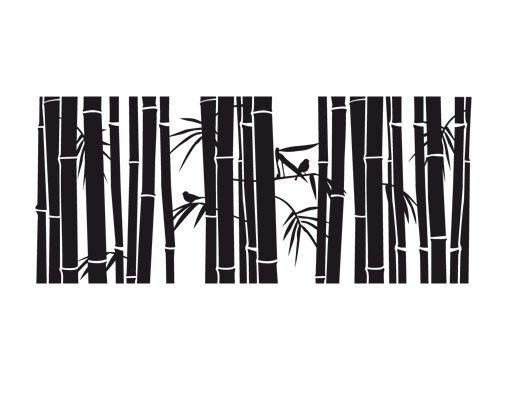 Fensterfolie - Fenstertattoo No.UL957 Bambus I - Milchglasfolie