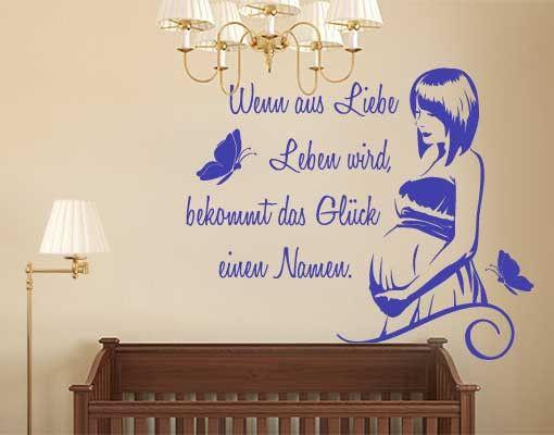 Wandtattoo Sprüche - Wandsprüche No.FB183 Mutterglück I