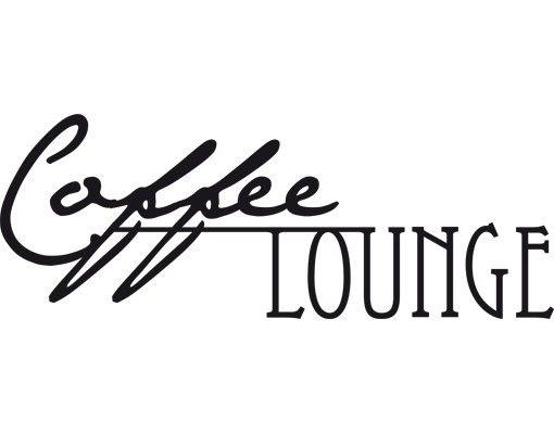 Fensterfolie - Fenstertattoo No.CA27 Coffee Lounge - Milchglasfolie