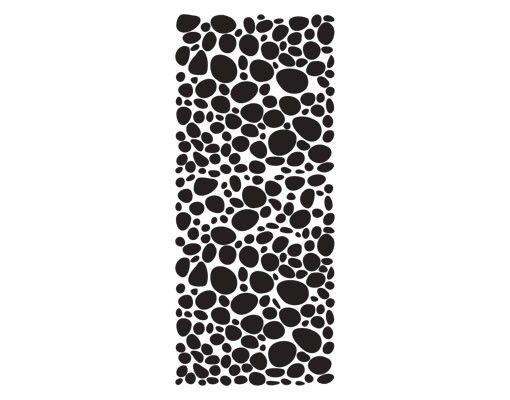 Fensterfolie - Sichtschutzfolie No.UL972 Kieselsteine III - Milchglasfolie - Milchglasfolie
