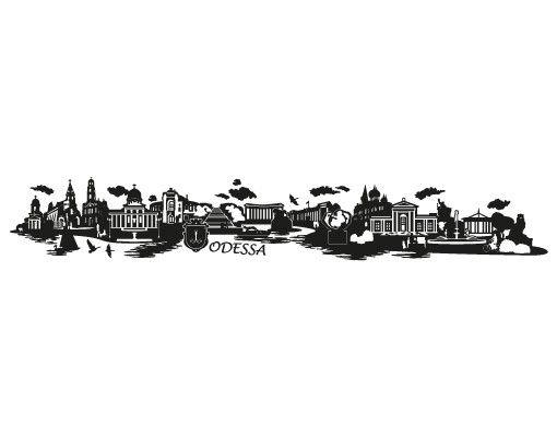 Wandtattoo Skyline No.JR37 Odessa Skyline