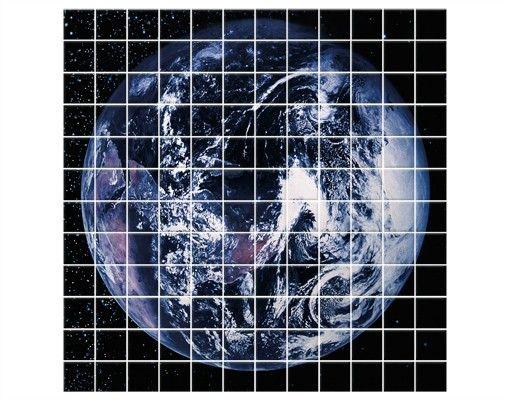 Fliesenbild - Planet Earth