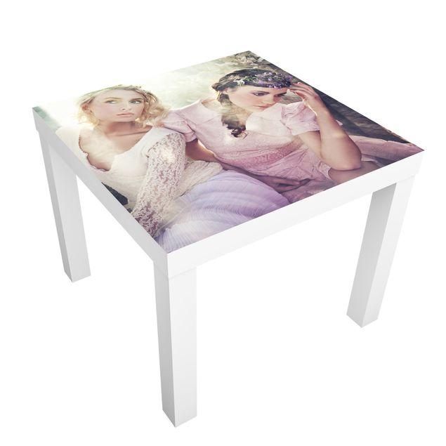Möbelfolie für IKEA Lack - Klebefolie Spring Nymphs