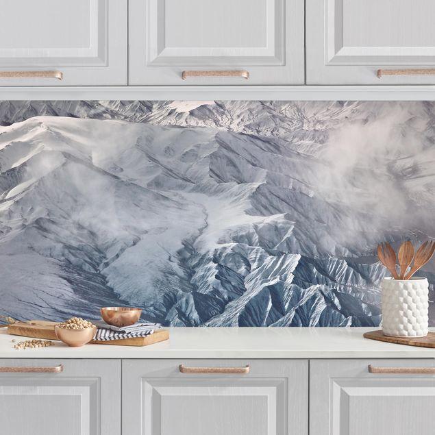 Küchenrückwand - Berge von Tibet