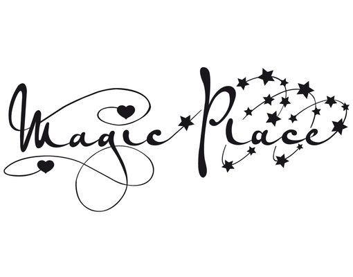 Wandtattoo Sprüche - Wandworte No.PP7 Magic Place