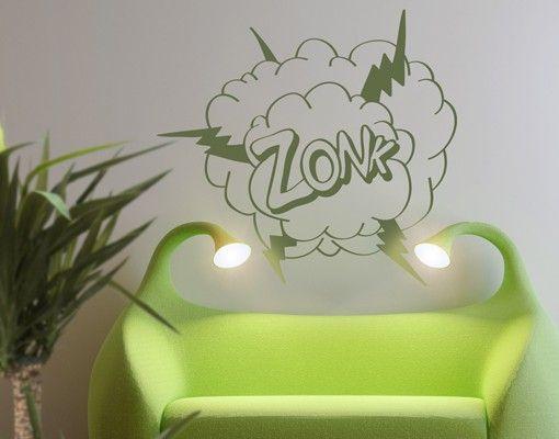 Wandtattoo Sprüche - Wandworte No.RY20 Comic Expression ZONK