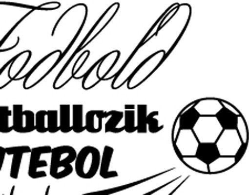 Wandtattoo Fußball - No.EV104 Fußball International