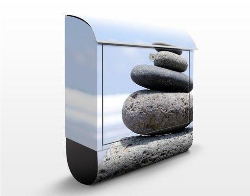 Design Briefkasten Sand Stones 39x46x13cm