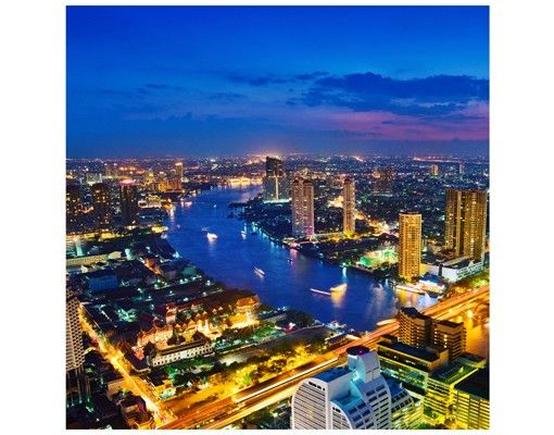 Beistelltisch - Bangkok Skyline