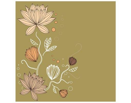 Beistelltisch - Art Nouveau Flower