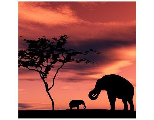 Beistelltisch - African Elefant Family