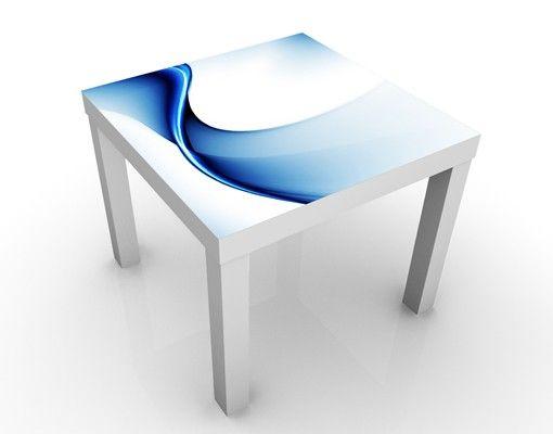 Beistelltisch - Blaue Wandlung