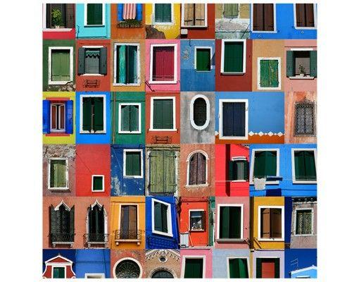 Beistelltisch - Fenster der Welt