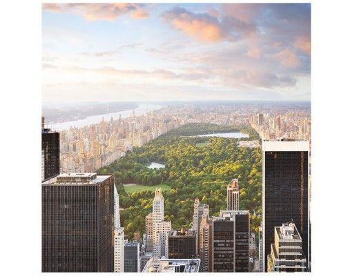 Beistelltisch - Blick über den Central Park